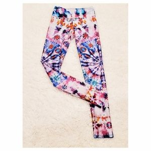 Goldsheep Tie Dye Workout Leggings Yoga Boho